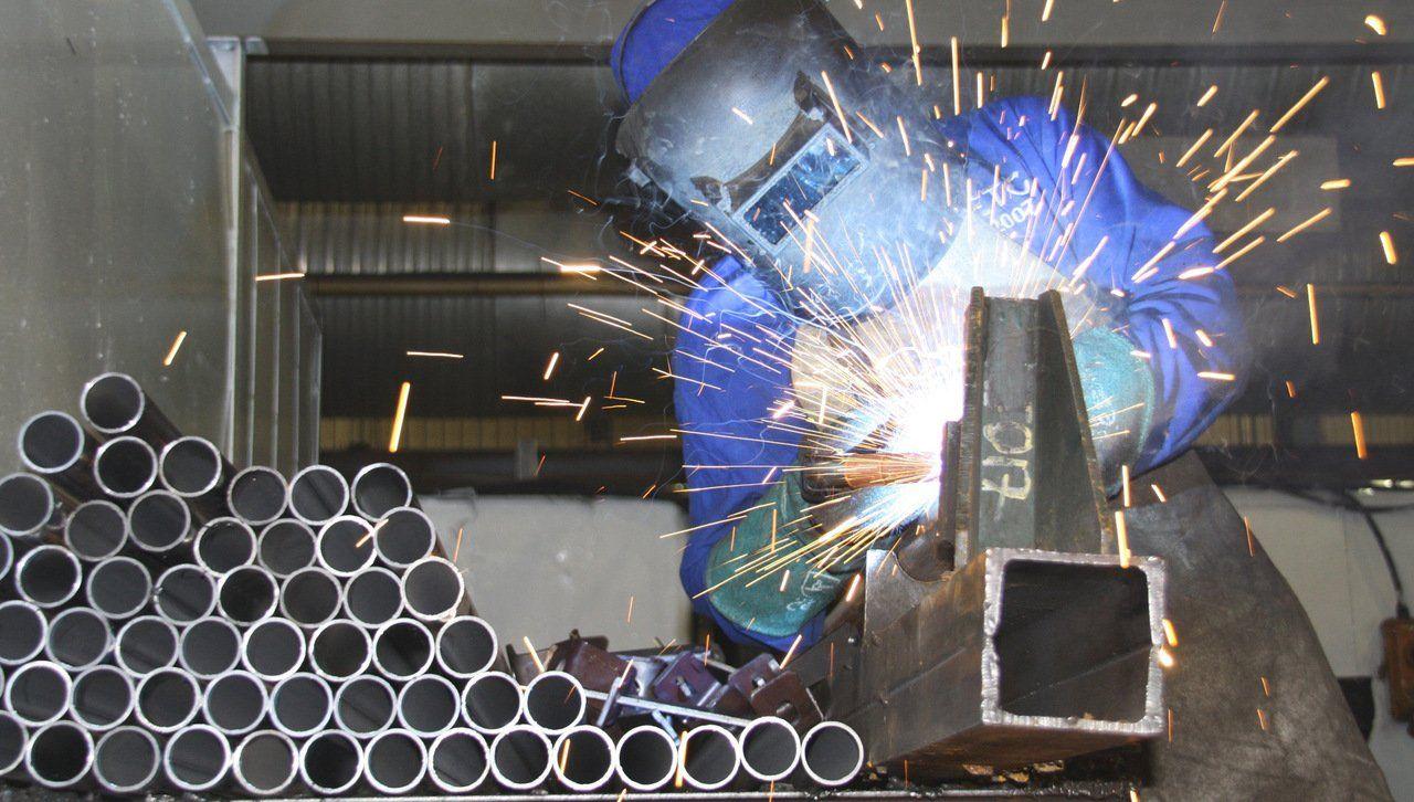 Single Post Arc welding, Welding works, Welding services