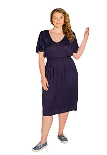 Sealed With A Kiss Designs Plus Size Dress Pam Dress 5x Navy You