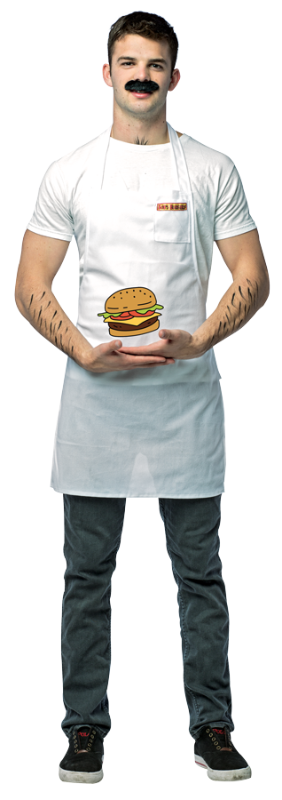 Official Licensed Bob's Burgers Bob Costume by Rasta Imposta Costumes