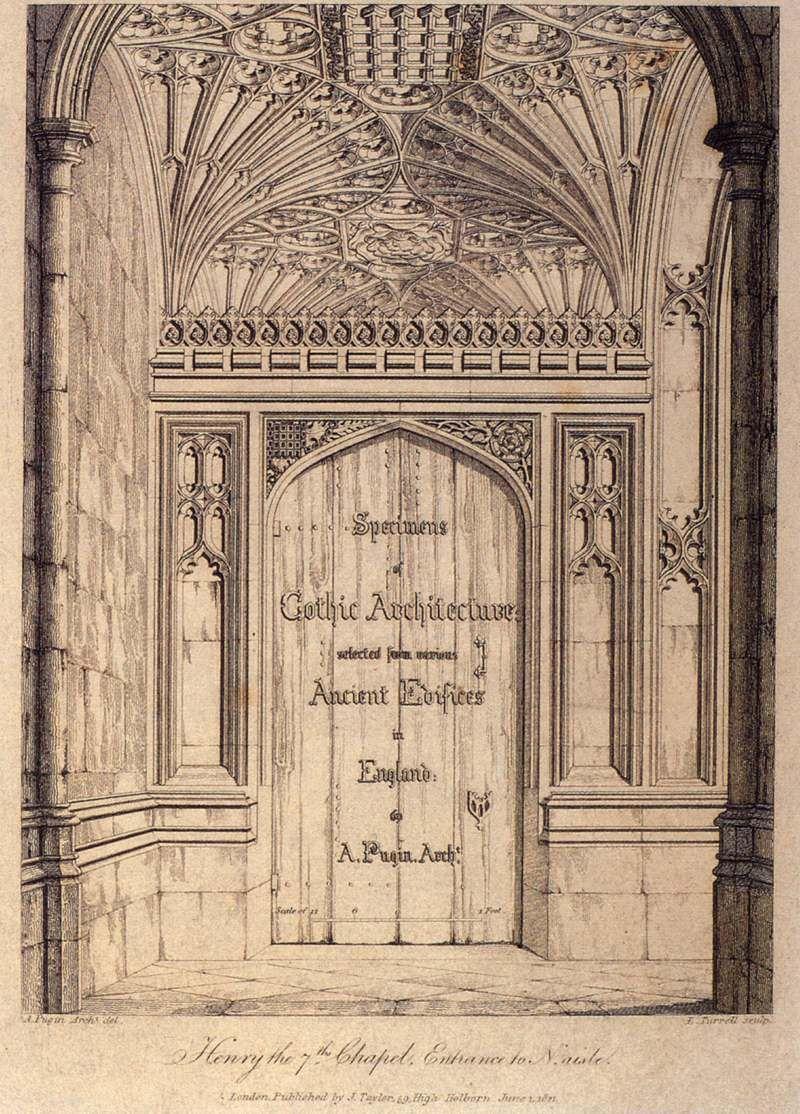 Augustus_charles_pugin_ _specimens_of_gothic_architecture_  # Augustus Pugin Muebles