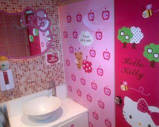 Kumpulan Gambar Desain Kamar Mandi Hello Kitty 2016 Gambar Rumah Minimalis Hello Kitty Desain Kamar Mandi Anak