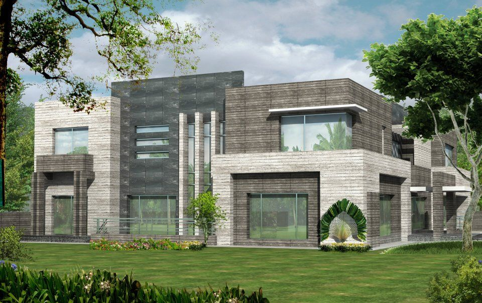 D Front Elevationcom Valancia Modern Contemporary House Design - House design elevation photo