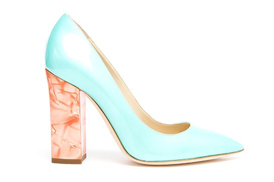 20 Subtle Pieces (That Are Also REALLY Sexy) #refinery29  http://www.refinery29.com/sexy-outfits#slide13  The Statement Block Heel Say buh-bye to those basic, blah, nude pumps — and give a big hello to this bright, colorblocked heel.