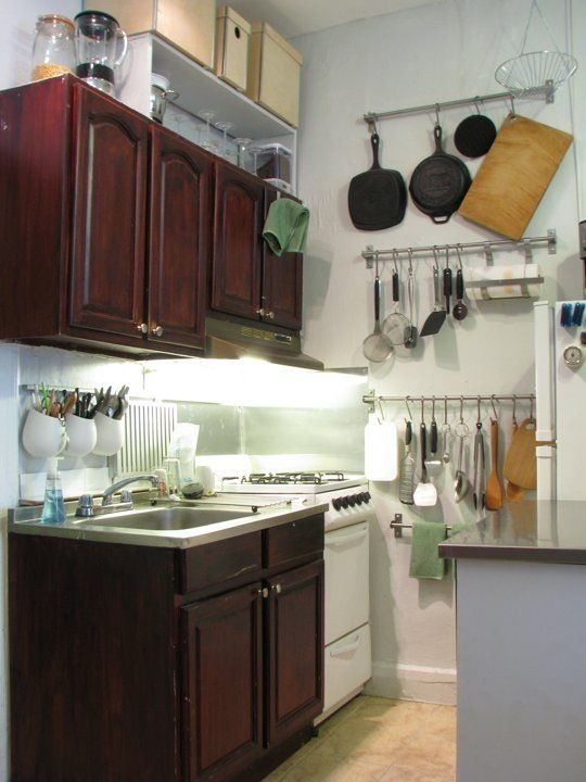 Smart Solutions For Small Cool Kitchens Small Space Kitchen Small Kitchen Solutions Kitchen Remodel Small