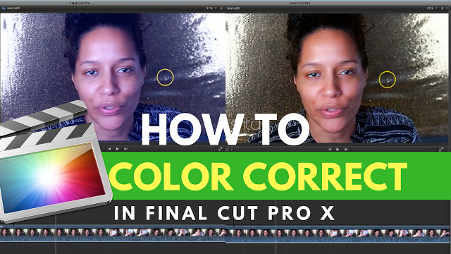 Final Cut Pro X TUTORIALS: HOW TO Color Correct BEAUTY
