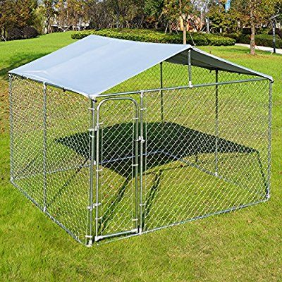 Www Amazon Com Giantex Large Kennel Backyard Playpen Dp B01n4l1dgr 3fpsc 1 Subscriptionid Akiaidrvqgd77iohezxq T Luxury Dog Kennels Dog Kennel Cover Dog Kennel
