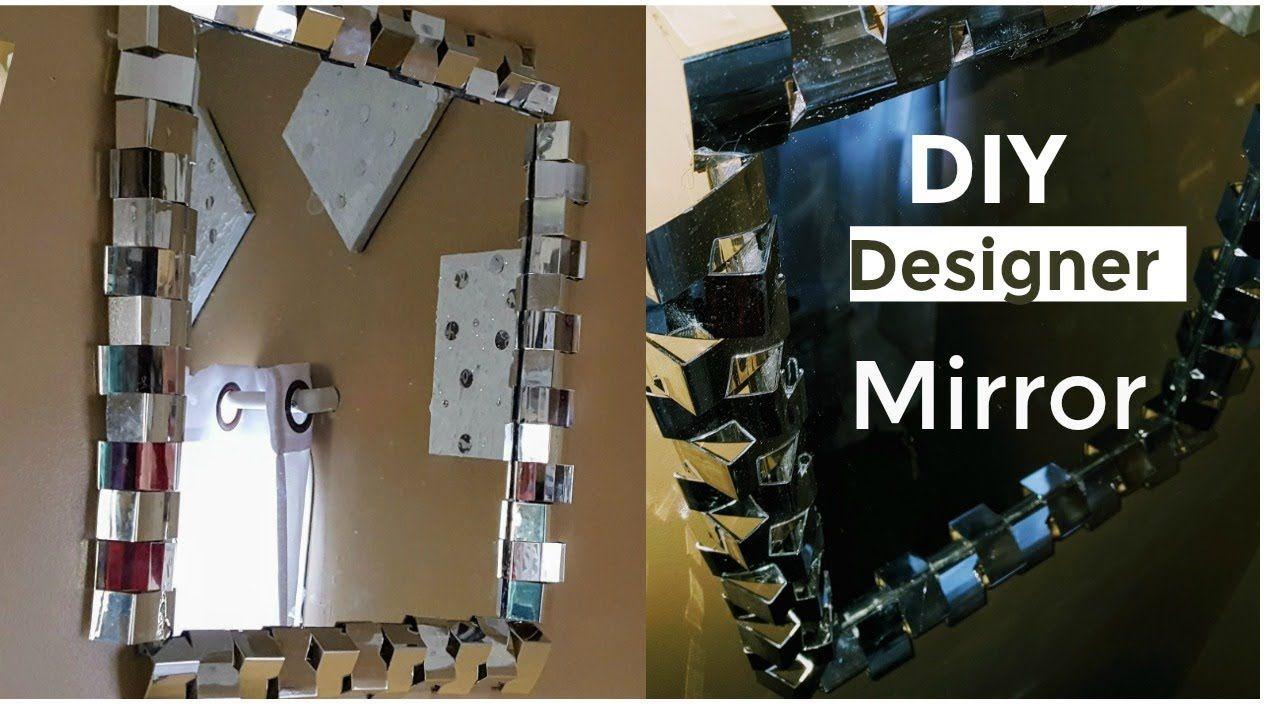 NEW DIY Dollar Tree Mirror Designer Glam Mirror (Odenlina ...