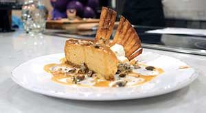 The Dish | Caramel Pumpkin Cheesecake