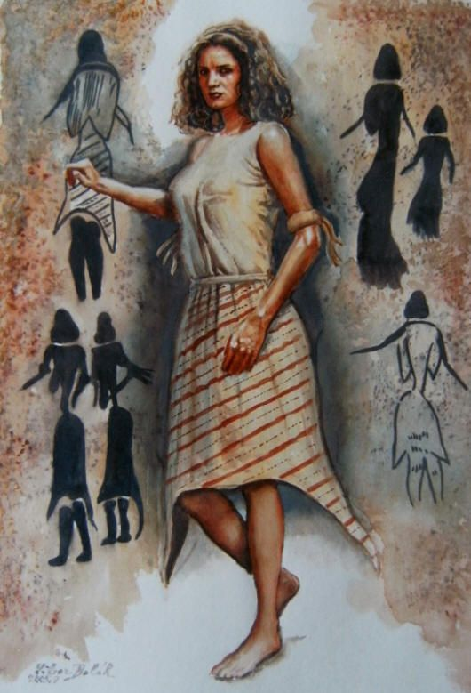 Libor Balák - Mesolithic Woman | Ancient Peoples & Places ...