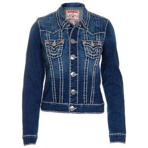true religion jean jacket women true religion denim jacket women s jimmy super t da 39 mya. Black Bedroom Furniture Sets. Home Design Ideas