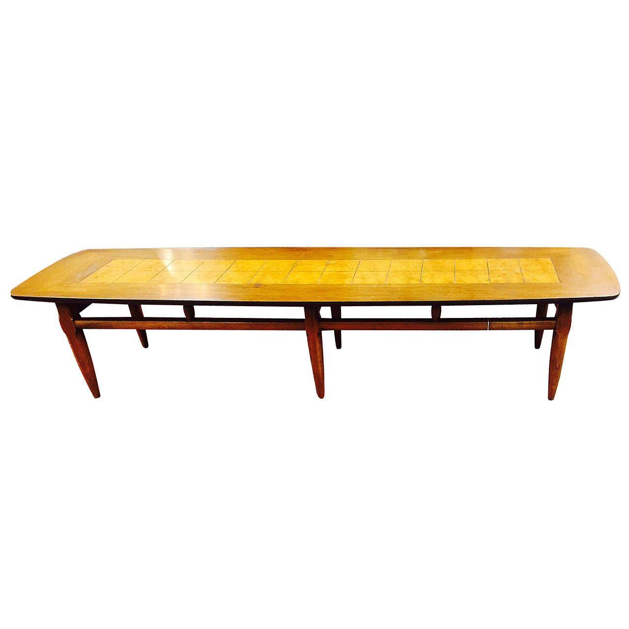 "Mid Century Surfboard Coffee Table At 1stdibs: Mid-Century Modern Lane ""Surfboard"" Coffee Table"