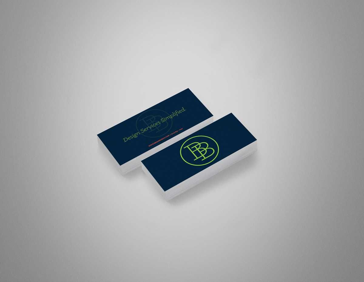 Statement business cards navy and emerald green mini business cards statement business cards navy and emerald green mini business cards with bold logo reheart Gallery