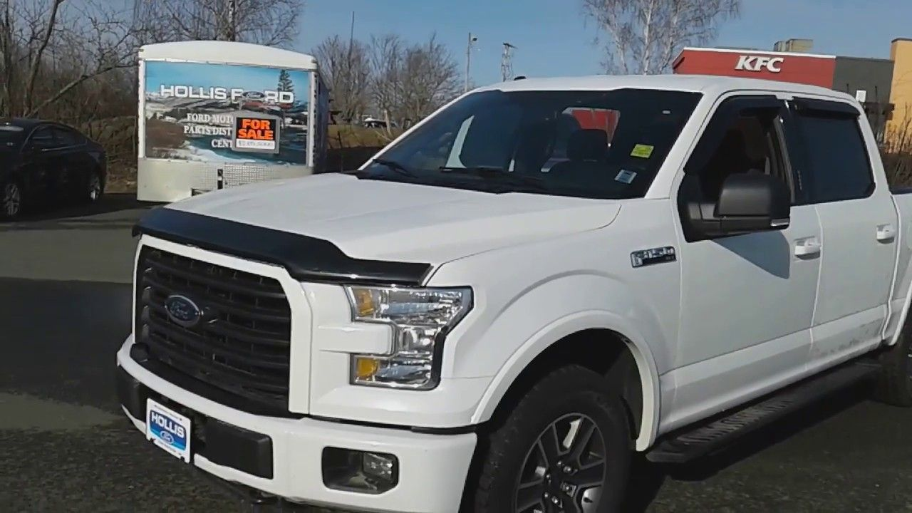 2015 Ford F150 XLT Super Crew with Sport Package at Hollis