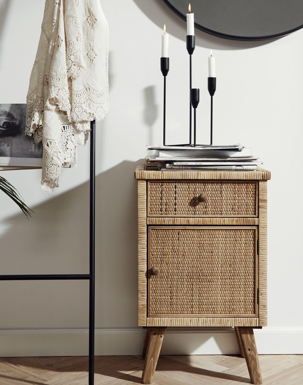 Photo of Natural Bedside Cabinet