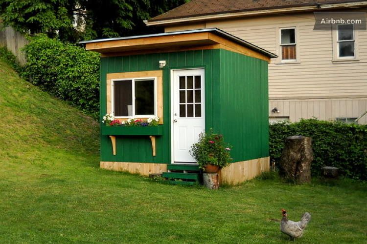 10 Tiny Houses You Can Rent On Airbnb Garden Cabins