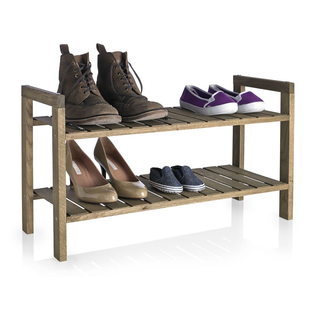 Wilko shoe rack wooden tier saving time and money pinterest