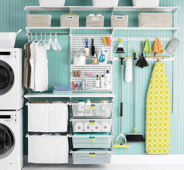 How to Organize the Laundry Room Organizar
