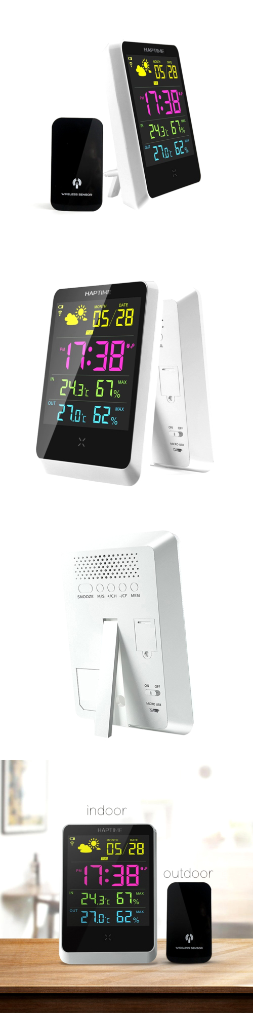 Weather Meters: Digital Weather Station Wireless Thermometer ...