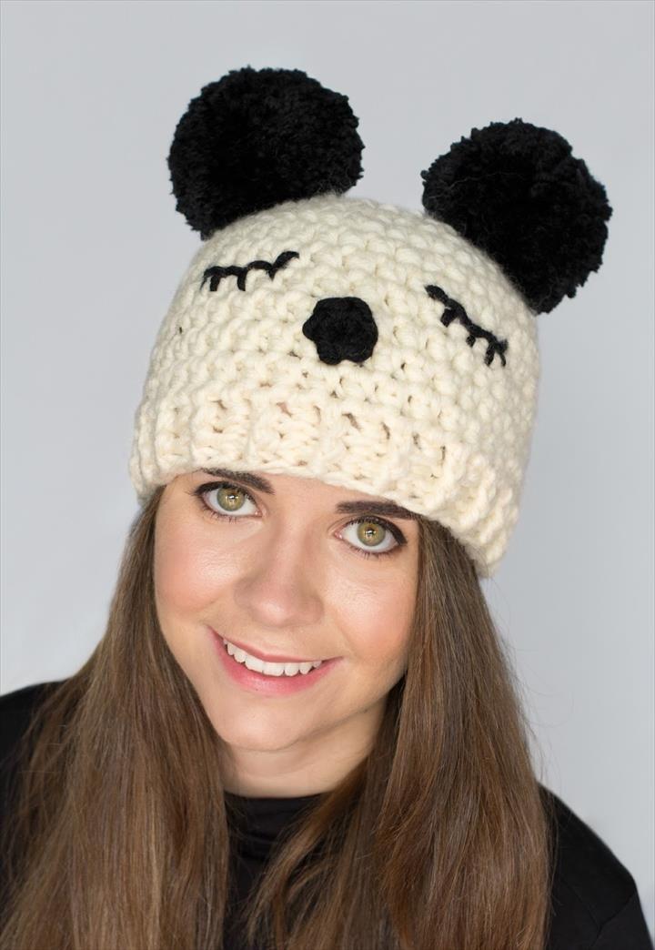 30 Amazing Crochet Pom Pom Hat Ideas