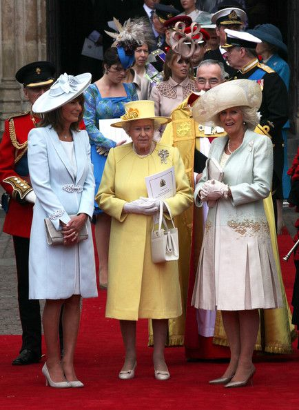 Carole Middleton, Queen Elizabeth and Camilla at William and Kate\u0027s Wedding