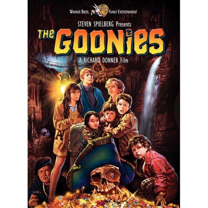 THE GOONIES. 1985. Basert på en historie skrevet av Steven Spielberg. Underholdende skattejakt.