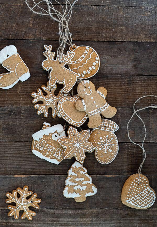Lebkuchen Cookie's als Baumschmuck
