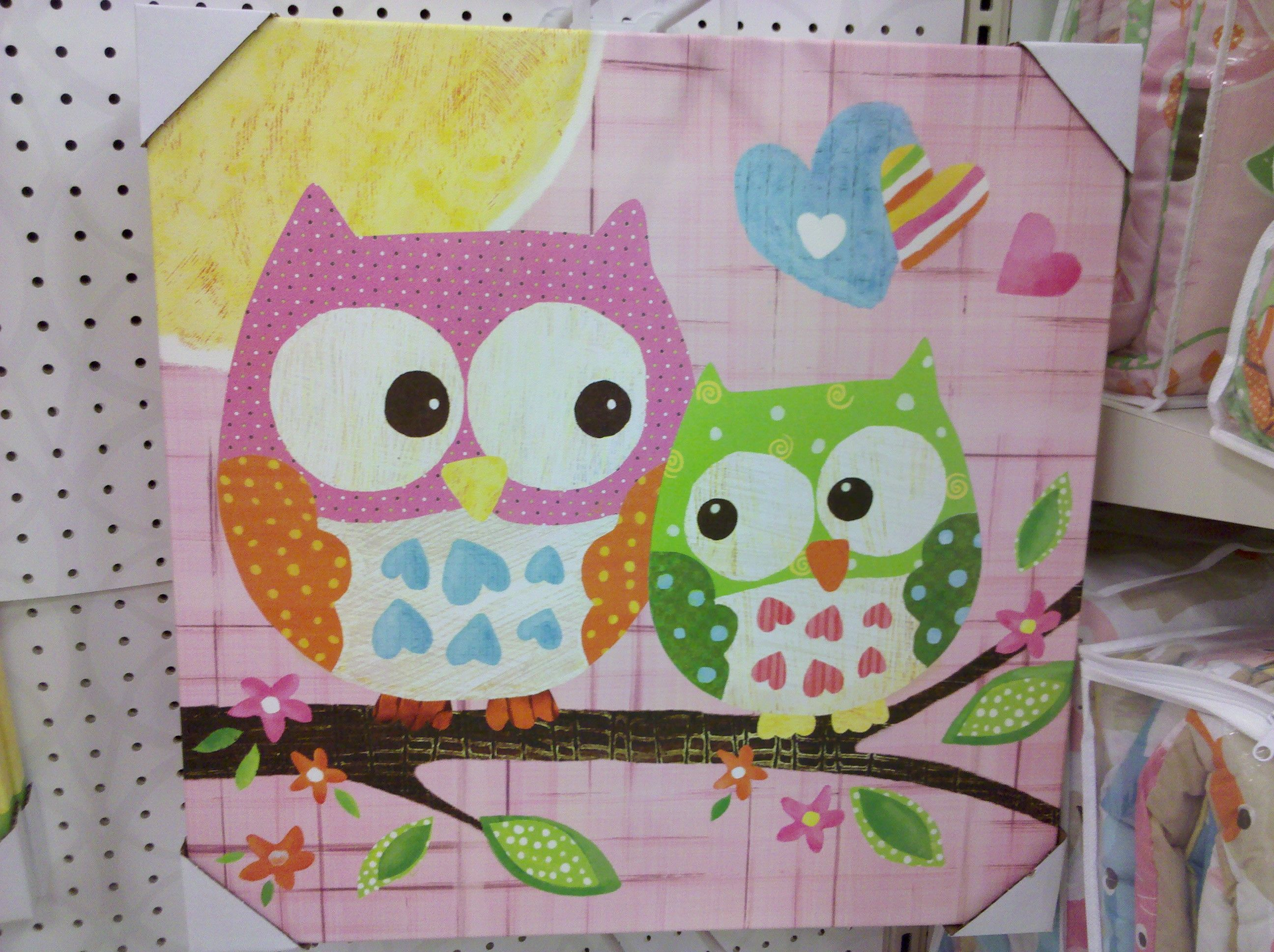 Target Oopsy Daisy Too Owl Wall Art
