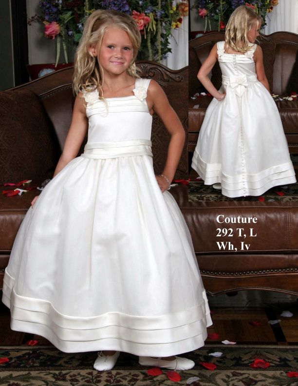 Empire Waist First Communion Dresses