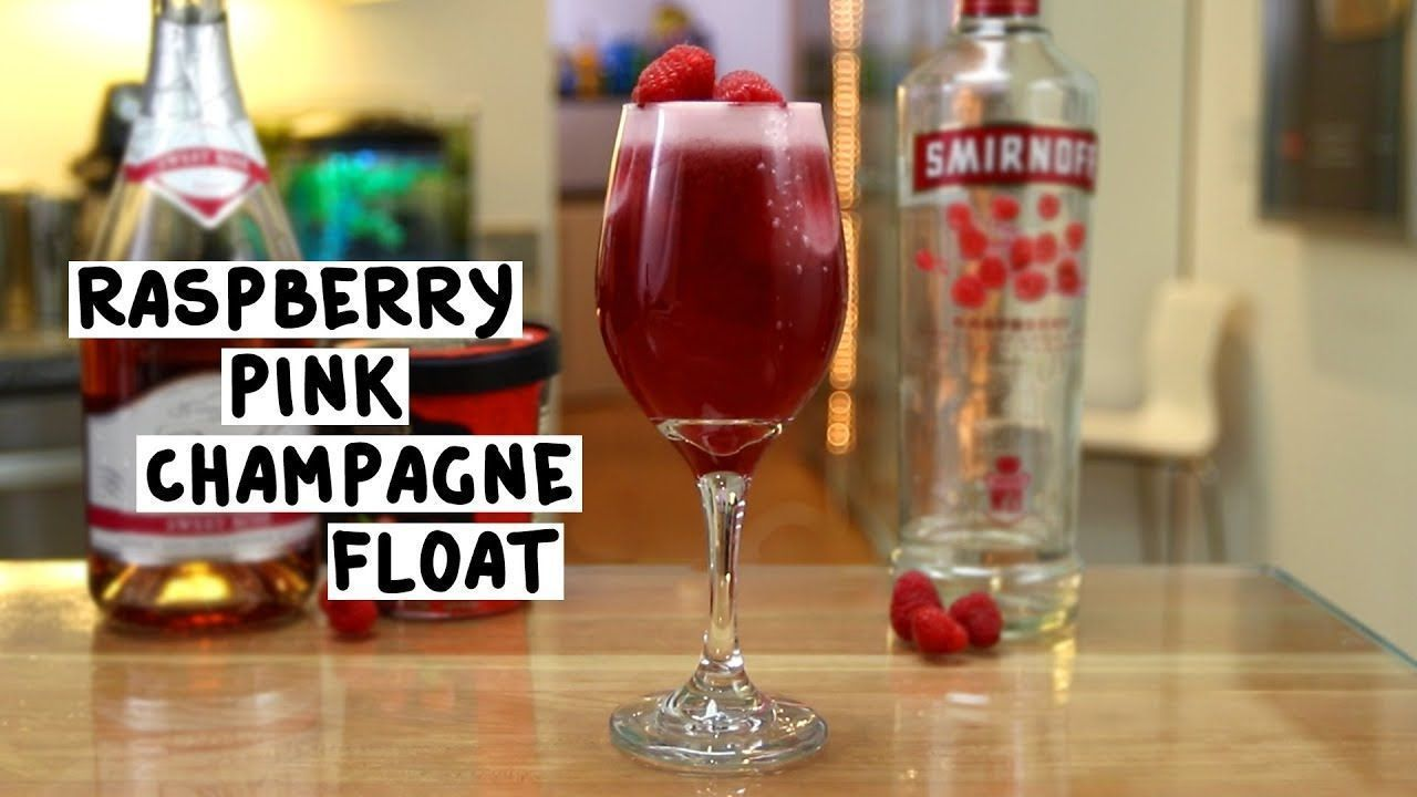 Raspberry Pink Champagne Float #raspberryvodka RASPBERRY PINK CHAMPAGNE FLOAT 1 oz. (30ml) Raspberry Vodka 3 oz. (90ml) Pink Champagne 2 Scoops Raspberry Sorbet Fresh Raspberries  PREPARATION  1. Place two scoops of raspberry sorbet in wine glass. 2. Add raspberry vodka and top with pink champagne. 3. Add fresh raspberries as garnish.  DRINK RESPONSIBLY! #raspberryvodka Raspberry Pink Champagne Float #raspberryvodka RASPBERRY PINK CHAMPAGNE FLOAT 1 oz. (30ml) Raspberry Vodka 3 oz. (90ml) Pink Ch #raspberryvodka