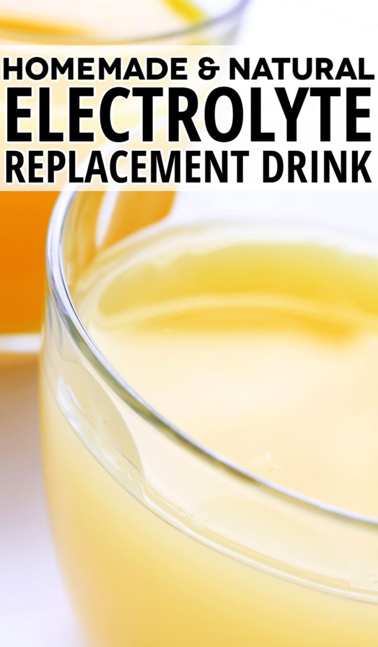 Homemade electrolyte drink recipe in 2020 homemade
