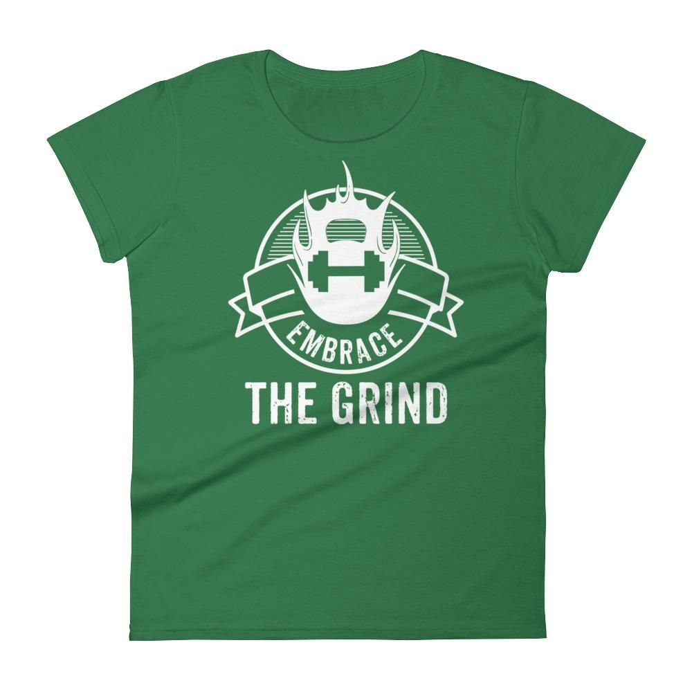 Womenus embrace the grind short sleeve t products pinterest