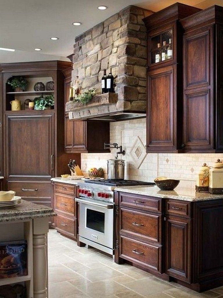 20 Top Oak Cabinet Design Ideas Kitchen Walnut Kitchen Cabinets