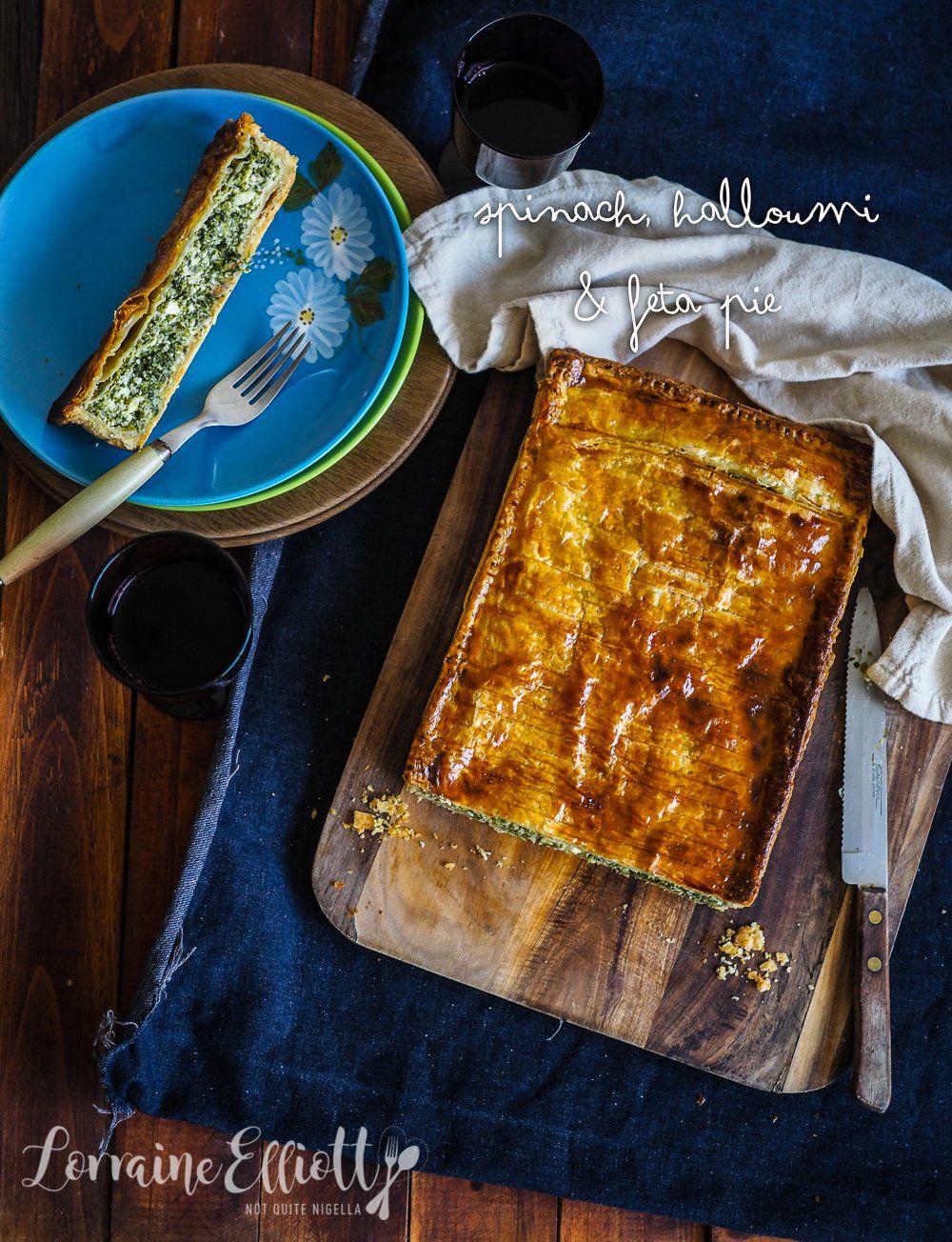 Spinach, Halloumi & Feta Pie | Recipe in 2020 | Halloumi ...