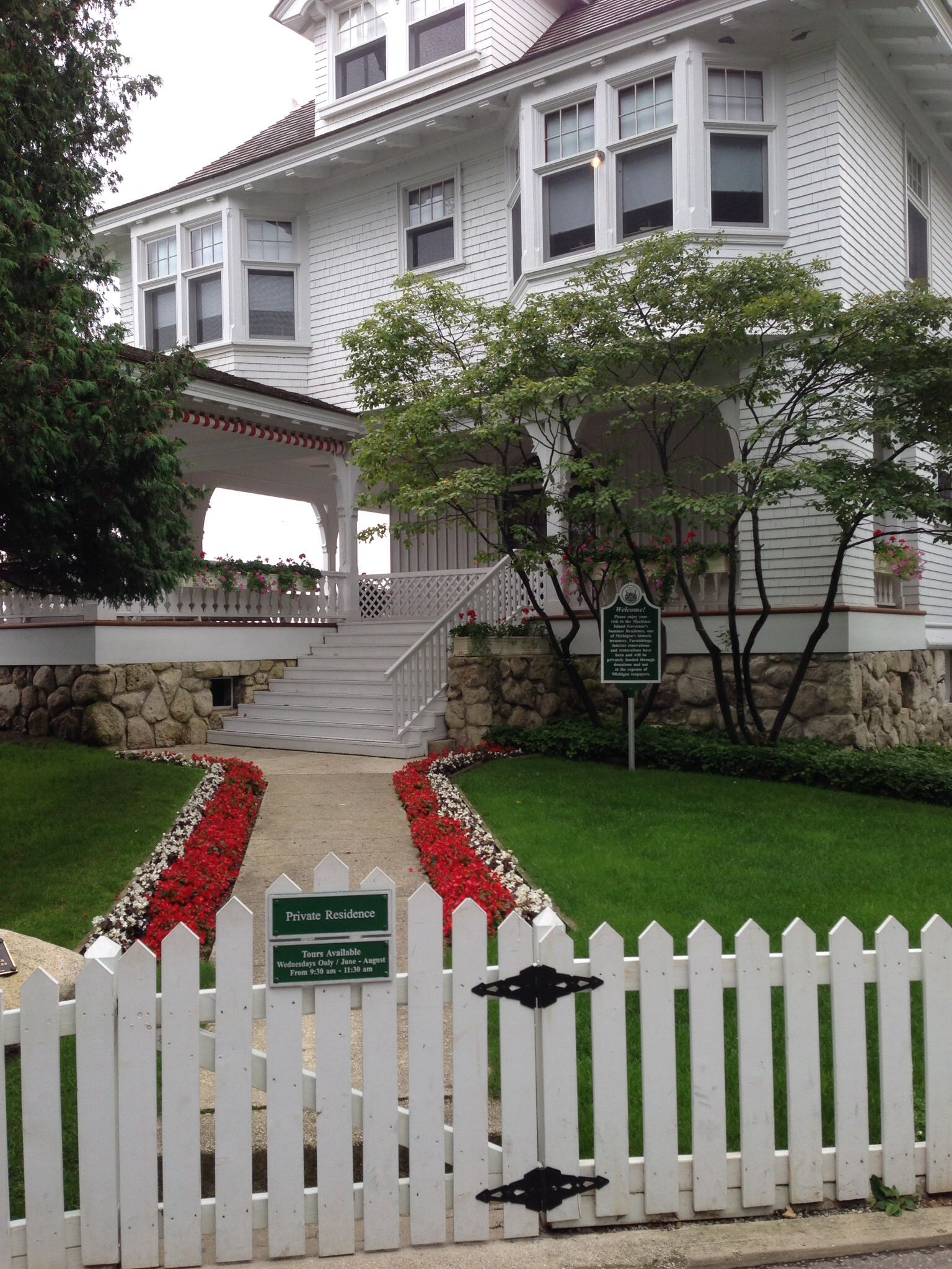 The Governors Summer Home On Mackinaw Island Mackinac Island Mackinac Island Michigan Mackinac