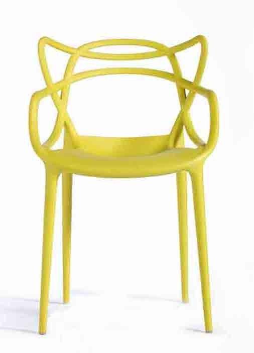 Kartell Masters Yellow Replica Designer Chair Fortytwo