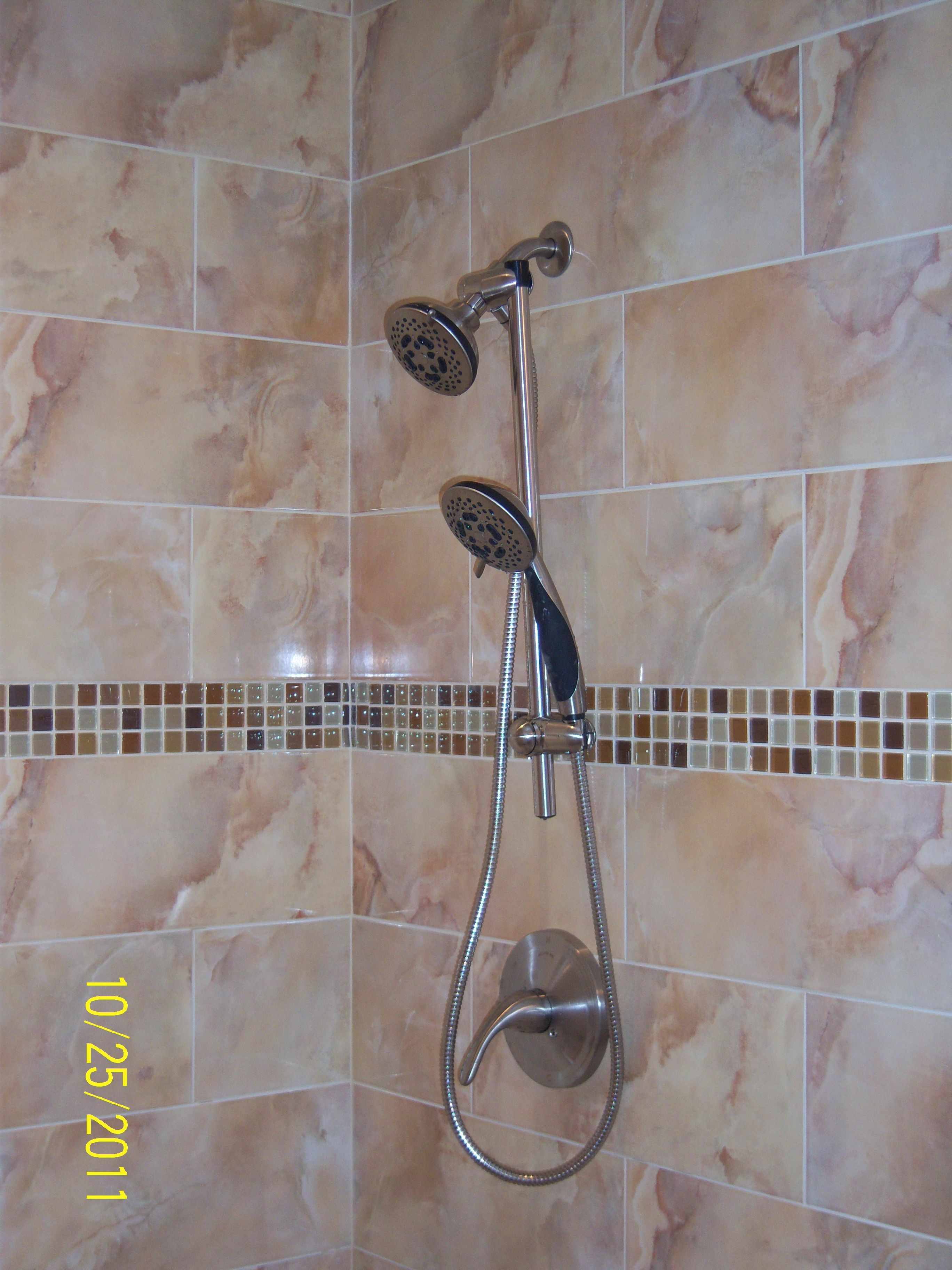 Double Shower Head For A Tall Short Couple With Images