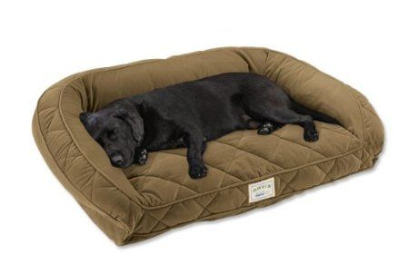 Amazon Com Orvis Tempur Pedic Deep Dish Dog Bed Large