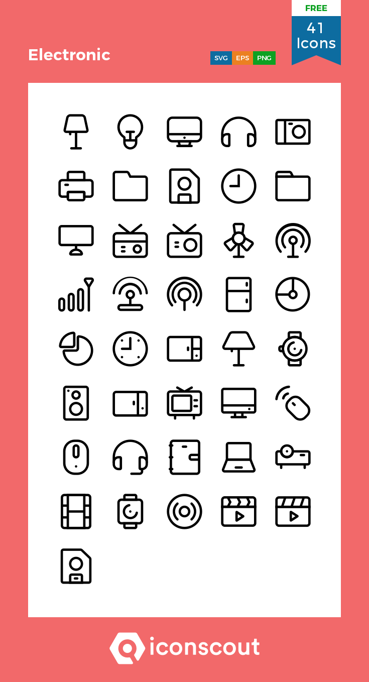 Download Electronic Icon Pack Available In Svg Png Eps Ai Icon Fonts Electronics Icon Technology Icon Icon