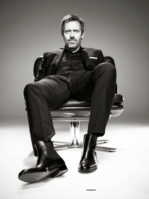 Well hello, Mr. Hugh Laurie | And I love him...Future ...