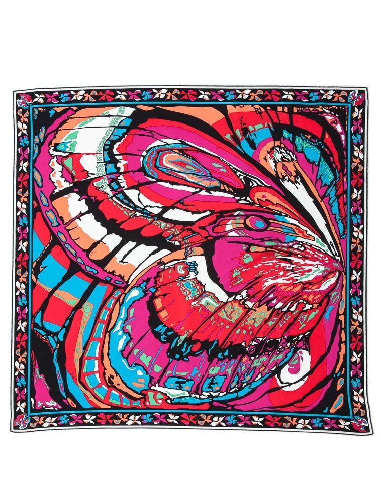 Emilio Pucci silk scarf.