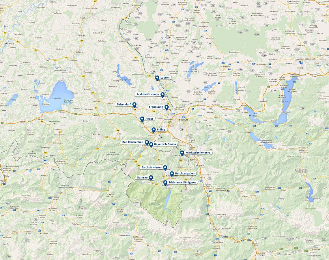 Touren Nationalpark Deutschland Urlaub Bayern Eagles