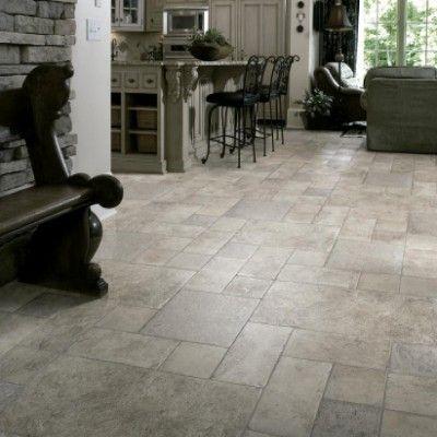Faus Palatino Vesuvi 8mm Tile Effect Laminate Floor 40346000