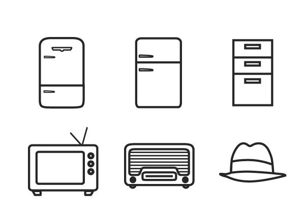 Minimal Interior Design Symbols Graphical Stuff Pinterest