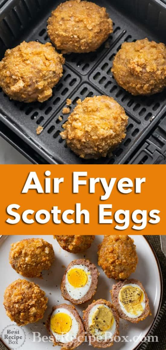 Photo of Air Fryer Scotch Eggs recipe is so good!