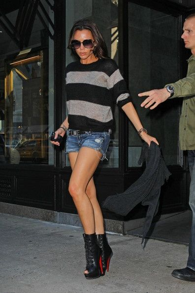 Victoria Beckham Style: It's all about the shoes