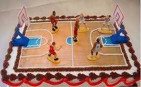 Strange Image Result For Basketball Court Cake Themed Birthday Cakes Funny Birthday Cards Online Kookostrdamsfinfo