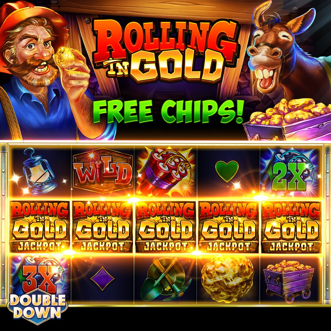 (EXPIRED) Strike Gold on our newest slot! Play Rolling in