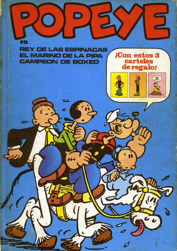 Libro Cómic Popeye, Tomo I