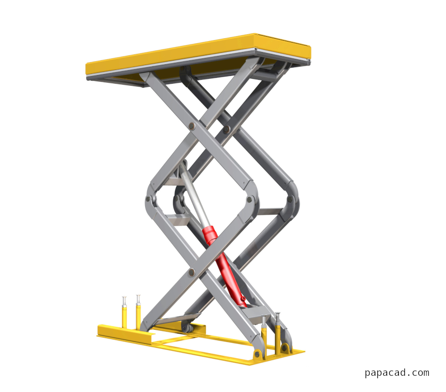 Best Scissor Lift Design Diy Scissor Lift Table 1000Kg In 400 x 300