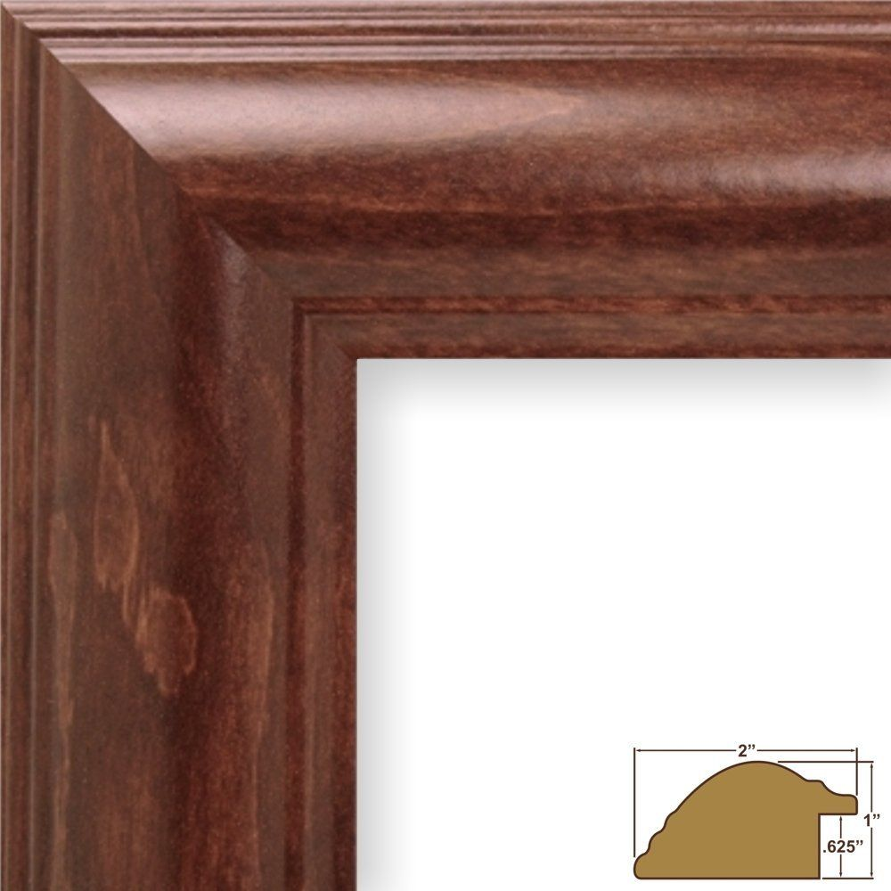 Craig Frames 88031 19 by 27-Inch Picture Frame, Smooth Wood Grain ...
